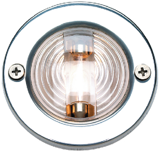 TRANSOM LIGHT - STAINLESS FLANGE (#50-05391) - Click Here to See Product Details