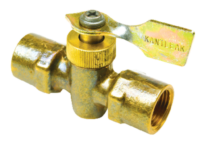 BRASS TWO WAY FUEL LINE VALVE (#50-20741) - Click Here to See Product Details