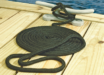 DOUBLE BRAID NYLON DOCK LINE (#50-39701) - Click Here to See Product Details