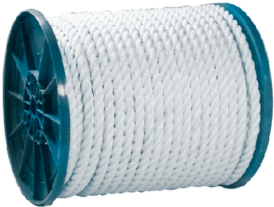 3-STRAND TWISTED NYLON ROPE SPOOL (#50-40800) - Click Here to See Product Details