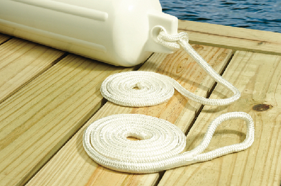 DOUBLE BRAIDED NYLON FENDER LINE (#50-40901) - Click Here to See Product Details