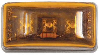 SUBMERSIBLE LED MINI SEALED CLEARANCE / MARKER LIGHT (#50-52561) - Click Here to See Product Details
