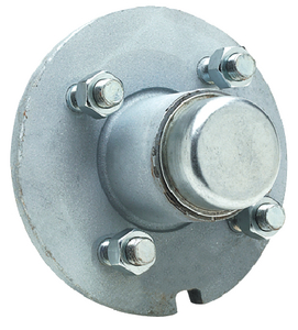 GALVANIZED TRAILER WHEEL HUB  (#50-53021) - Click Here to See Product Details