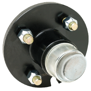 PAINTED TRAILER WHEEL HUB  (#50-53121) - Click Here to See Product Details