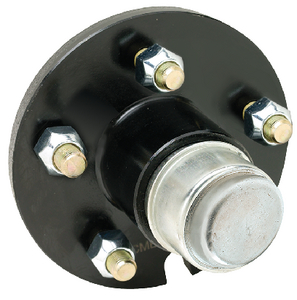 PAINTED TRAILER WHEEL HUB  (#50-53161) - Click Here to See Product Details