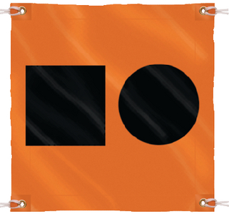 DISTRESS SIGNAL S.O.S. FLAG (#50-78341) - Click Here to See Product Details