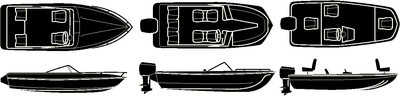 STERLING SERIES V-HULL, TRI-HULL RUNABOUTS<BR>& ALUMINUM BASS BOAT - BOAT COVER (#50-97321) - Click Here to See Product Details