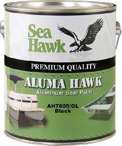 SEAHAWK PAINTS ALUMA HAWK BLACK QT (AH7005/QT)