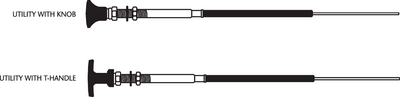 33LU CONTROL CABLES (#1-CC34330) - Click Here to See Product Details