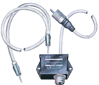 AM/FM/VHF MARINE BAND SEPARATOR (#167-4357S) - Click Here to See Product Details