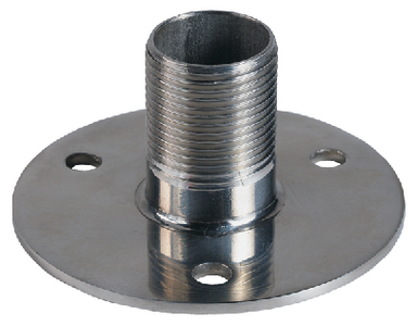 STAINLESS STEEL LOW PROFILE FLANGE MOUNT (#167-4710) - Click Here to See Product Details