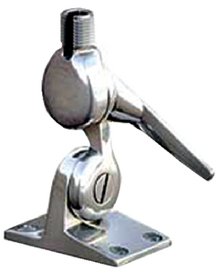 STAINLESS STEEL CUSTOM LOOK FOUR WAY RATCHET MOUNT  (#167-5187) - Click Here to See Product Details