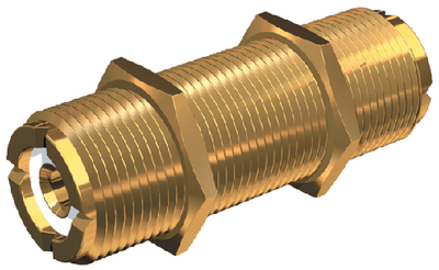 STANDARD VHF RADIO CONNECTOR (#167-PL258LG) - Click Here to See Product Details
