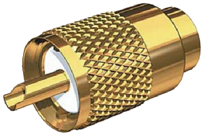 STANDARD VHF RADIO CONNECTOR (#167-PL259G) - Click Here to See Product Details