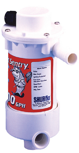 BAIT SENTRY DUAL PORT LIVEWELL PUMP (#275-1700021030) - Click Here to See Product Details