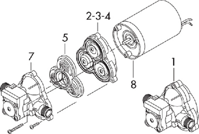 2088/2093 SERIES REPAIR PARTS (#275-9423110) - Click Here to See Product Details