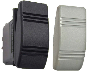 CONTURA III<sup>®</sup> WEATHER RESISTANT ROCKER SWITCHES (#11-RK19850TP) - Click Here to See Product Details