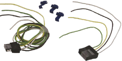 4 POLE FLAT CONNECTORS (#11-TC43724) - Click Here to See Product Details