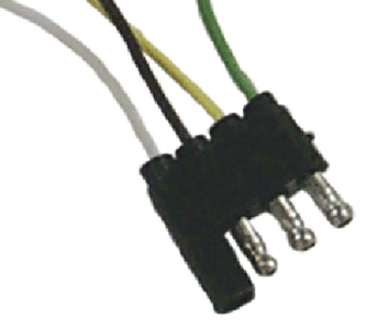 4 POLE FLAT CONNECTORS (#11-TC44054) - Click Here to See Product Details