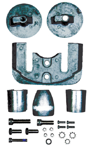 MERCRUISER BRAVO III ANODE KIT (#47-6154M) - Click Here to See Product Details