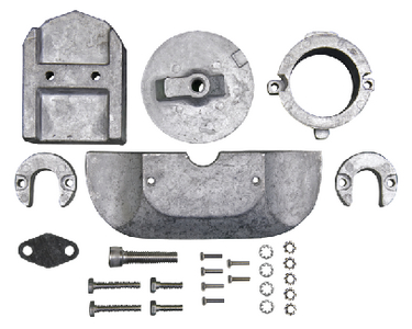 MERCRUISER ALPHA I GENERATION II ANODE KIT (#47-6158A) - Click Here to See Product Details