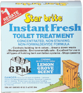 INSTANT FRESH TOILET TREATMENT (#74-71761) - Click Here to See Product Details