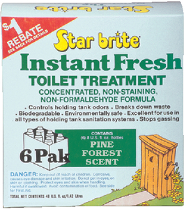 INSTANT FRESH TOILET TREATMENT (#74-71763) - Click Here to See Product Details