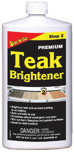 PREMIUM TEAK BRIGHTENER (#74-81532) - Click Here to See Product Details