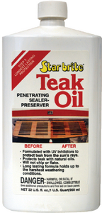 TEAK OIL - Click Here to See Product Details