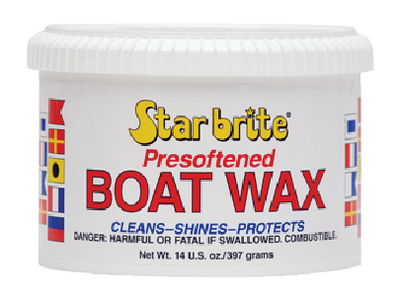 PRE-SOFTENED BOAT WAX - Click Here to See Product Details