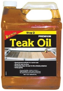 PREMIUM GOLDEN TEAK OIL (#74-85100) - Click Here to See Product Details