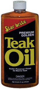 PREMIUM GOLDEN TEAK OIL (#74-85116) - Click Here to See Product Details