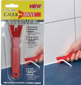 CAULK AWAY TOOL (#74-92401) - Click Here to See Product Details
