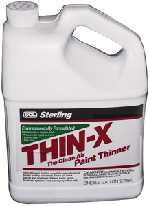 THIN-X PAINT THINNER - Click Here to See Product Details