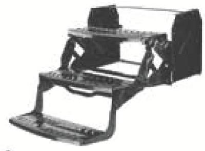 STROMBERG CARLSON PR 24IN WIDE TRIPLE STEP RADIUS 8 (SMFP-3100)