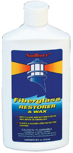 ONE STEP FIBERGLASS RESTORER & WAX - Click Here to See Product Details
