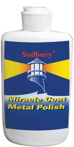 SUDBURY BOAT CARE METAL POLISH MIRACLE COAT 8OZ (420)