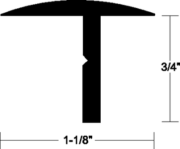 T- HATCH ALUMINUM TRIM (#236-A500304TAL12) - Click Here to See Product Details