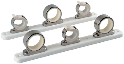 STAINLESS STEEL ROD HANGER RACK (#236-F1627531) - Click Here to See Product Details