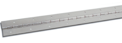 STAINLESS STEEL CONTINUOUS HINGE (#236-H140200A721) - Click Here to See Product Details