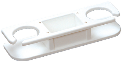POLYETHYLENE DRINK HOLDER (#236-P012000W) - Click Here to See Product Details