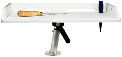 GUNNEL MOUNT FILLET TABLE (#236-P012120W) - Click Here to See Product Details