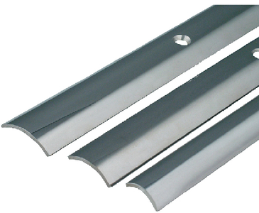 STAINLESS STEEL HOLLOW BACK RUB RAIL (#236-S114500P12) - Click Here to See Product Details