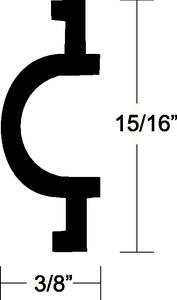 FLEXIBLE VINYL INSERT (#236-V120317BKA501) - Click Here to See Product Details