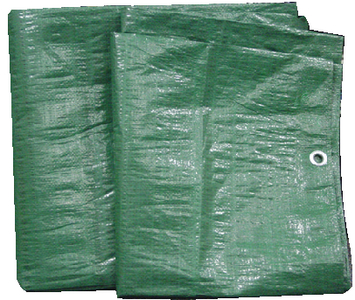 HEAVY DUTY GREEN POLY TARP (#136-97161G) - Click Here to See Product Details