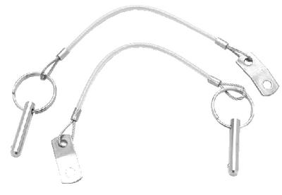 QUICK-DISCONNECT STAINLESS STEEL PULL PIN (#32-11227) - Click Here to See Product Details