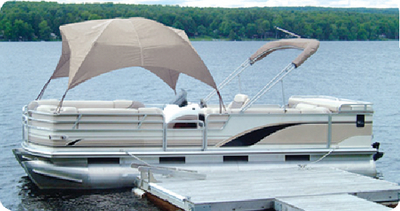 PONTOON GAZEBO (#32-12003OF) - Click Here to See Product Details