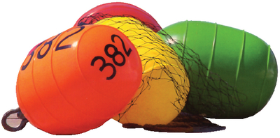 THE SPOILER<sup>TM</sup> INFLATABLE LOW DRAG BUOYS (#32-54011) - Click Here to See Product Details
