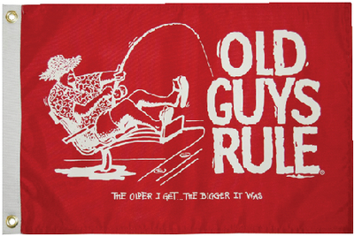 OLD GUYS RULE FLAGS (#32-5636) - Click Here to See Product Details