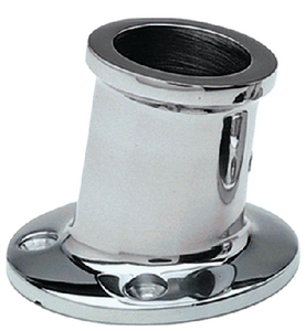TOP MOUNT FLAG POLE SOCKET (#32-966) - Click Here to See Product Details